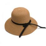 小辣椒新款沙滩草帽遮阳帽韩版可折叠旅游度假草帽女士大檐帽