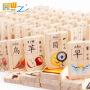 益智玩具多米诺骨牌双面印刷汉字木制儿童玩具木制积木特价