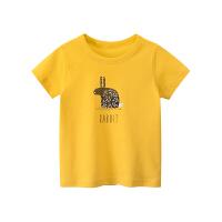 儿童半袖上衣女童夏装薄款打底衫夏季女孩短袖T恤