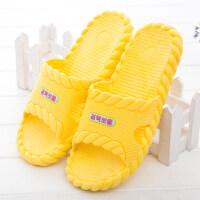 漏水浴室洗澡拖鞋男女凉拖鞋夏季家居塑料拖鞋女居家防滑拖鞋冬季 36/37适合35-36的脚