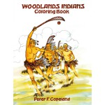 Woodlands Indians Coloring Book