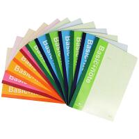 得力笔记本软面抄7650 彩色会议笔记本/记事本/日记本子办公用品