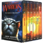 Warriors 猫武士 英文原版 第三部曲 三力量 Power of Three Box Set Volumes 6