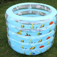 夏乐5层泳池圆形婴儿游泳池/宝宝游泳池套装