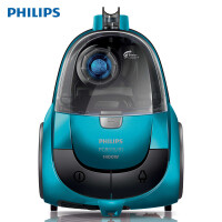 Philips/飞利浦 吸尘器家用强力大功率手持式吸尘机超静音卧式吸灰器FC8515 可吸动物毛发飓风离尘全方位吸嘴