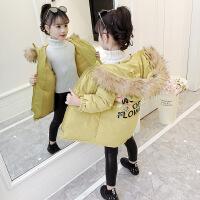 女童女韩版洋气7时尚8儿童装中大童9冬季10棉袄11岁