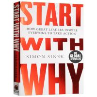 现货正版 经管书 Start With Why 从询问开始 激励者 英文原版 经管小说书籍 TED 领导力演讲作者 英
