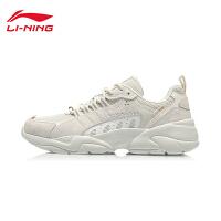 李宁休闲鞋男鞋2020新款追月男士经典时尚低帮运动鞋AGLQ235