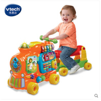 VTech 伟易达4合1益智火车 踏行车双语学习积木早教益智玩具英语