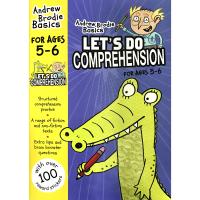 Andrew Brodie Let's Do Comprehension 英国小学阅读理解练习册5-6岁 英文原版小学教
