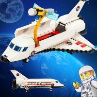 古迪gudi航天飞机航空 启蒙益智组装拼插拼装塑料积木玩具8814