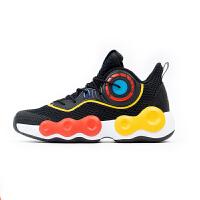 【券后价209】安踏儿童篮球鞋款官网中大童男童篮球网面透气运动鞋31109
