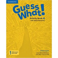 Guess What! Level 4 Activity Book with Online Resources Bri