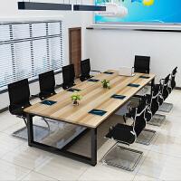 会议桌长桌职员培训洽谈简约现代简易长方形桌子电脑办公家具定制