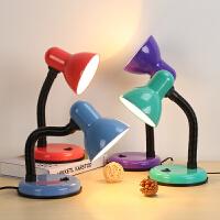 LED护眼台灯 大学生宿舍学习儿童书桌阅读直播补光插电卧室夹子灯