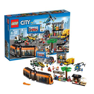 [当当自营]LEGO 乐高 CITY城市系列 城市广场 积木拼插儿童益智玩具 60097【当当自营】适合6-12岁,1683pcs小颗粒积木