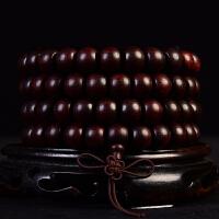 小叶紫檀苹果珠手链8x10mm 66克