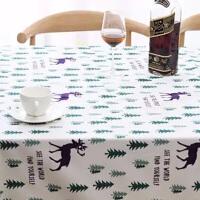 桌布少女心网红桌布小清新棉麻茶几桌布布艺餐桌布方形圆形茶几罩