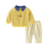 男童卡通卫衣休闲裤套装春装童装宝宝儿童两件套