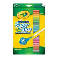 crayola 绘儿乐 50色可洗幼儿 马克笔 水彩笔 58-5050
