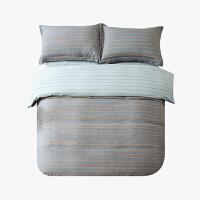 当当优品磨毛四件套 纯棉加厚磨毛保暖床品 双人加大床单四件套 卡纳