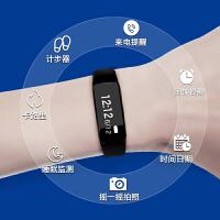 手表女学生无声震动闹钟手环可爱led计步方形运动智能塑胶电子表