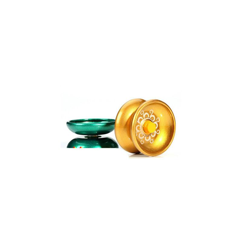 金属合金悠悠球遛遛球儿童小学生益智男女孩儿童宝宝玩具溜溜球 合金悠悠球颜色随机