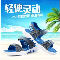 七波辉凉鞋 2017夏季新品儿童运动沙滩鞋男童沙滩鞋中童休闲凉鞋
