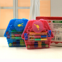 晨光ASD99817儿童学生教具小学数学 学具盒七巧板几何体三角片时钟小棒幼儿园教学文具
