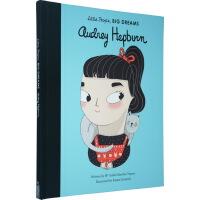 小小孩大梦想系列 Little People Big Dreams 奥黛丽・赫本 女孩世界名人传记 英文原版 Audr