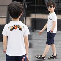 童装男童短袖t恤儿童polo衫大童男装夏装半袖男孩10-12-15岁