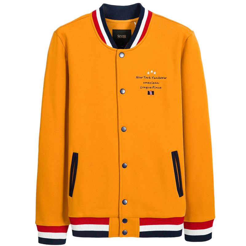 森马外套 秋季时尚男装休闲夹克青年韩版学生棒球服秋款上衣潮图片