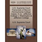 【预订】U.S. Supreme Court Transcripts of Record Pennsylvania C