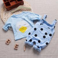 婴儿童套装衣服0岁8个月休闲春装冬季新生儿宝宝两件外出服