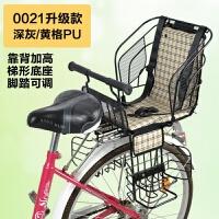 自行车儿童座椅电动车电瓶山地车宝宝后置安坐椅日本SG认证新品