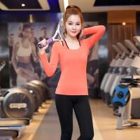 瑜伽服套装夏季三件套秋冬长袖新款健身房跑步服运动套装女显瘦