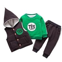 男童冬装宝宝儿童套装童装1-3岁衣服秋冬卫衣三件套