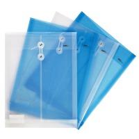 得力5511 防水文件袋 A4档案袋 透明简历袋 资料票据收纳 单只装
