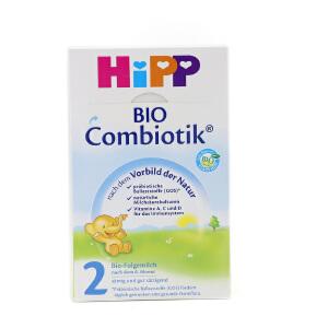 【当当海外购】德国进口Hipp BIO喜宝益生菌婴幼儿奶粉2段(6-10个月宝宝)600g
