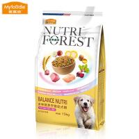 麦富迪宠物狗粮15kg 中大型幼犬营养森林狗粮金毛牛肉味通用型