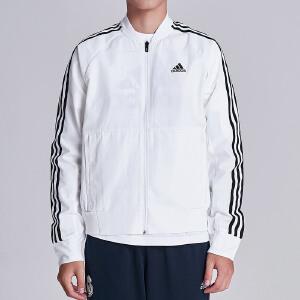 adidas阿迪达斯男子外套夹克飞行领休闲运动服DM5212