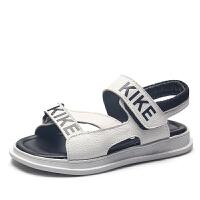 男童凉鞋夏季魔术贴儿童沙滩鞋学生软底凉鞋