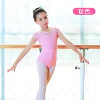 舞蹈服儿童女练功服女童连体服拉丁舞服少儿芭蕾舞表演服装