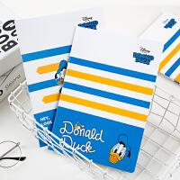 广博4本装B5缝线本笔记本子卡通记事本迪士尼唐老鸭款混色装IQT11002