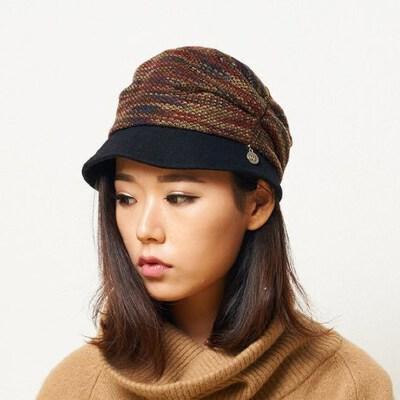保暖韩版秋季款逛街针织帽子女冬天潮 毛线帽子女冬 品质保证 售后无忧