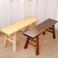 防腐木板凳实木长凳长方形凳木头长条凳木质中式木凳子家用换鞋凳