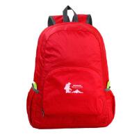 休闲户外登山包超轻便携大容量旅行双肩包皮肤包折叠户外登山包旅行包男女运动旅行双肩背包 手拿包