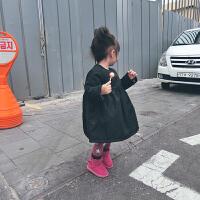 c洋气外穿用棉袄连衣裙公主裙女童秋冬加绒