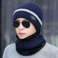 冬季骑车帽棉帽青年套头帽保暖毛线帽子男潮针织帽护耳帽子男