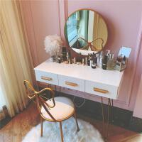 【满减优惠】北欧梳妆台网红ins风小户型 收纳柜一体轻奢卧室现代简约化妆桌